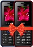 I Kall K20 Combo Of Two Mobile(Blue, Red) - Price 1099 31 % Off