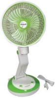View Care 4 Care Rechargeable table Fan With Lesser Emergency tube light 3 Blade Table Fan(Multi-color) Home Appliances Price Online(Care 4)