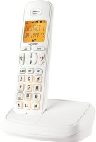 View Gigaset A500 Cordless Landline Phone(White) Home Appliances Price Online(Gigaset)