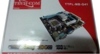 Tech-Com G41 Motherboard(Black)