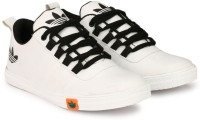 LEJANO Sneakers, Casuals, Canvas Shoes, Outdoors, Corporate Casuals(White)