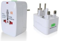 View Kavacha All In One (AU EU UK US) Worldwide Adaptor(White) Laptop Accessories Price Online(Kavacha)