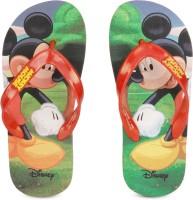Disney Girls Slip On Slipper Flip Flop(Red)