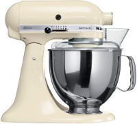 KitchenAid 5KSM150PSBAC 300 Mixer Grinder(Almond Cream, 1 Jar)