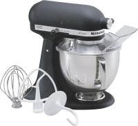 KitchenAid 5KSM150PSBBK 300 Mixer Grinder(Cast Iron Black- Special Finish, 1 Jar)