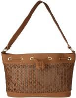 Giordano Women Brown PU Shoulder Bag