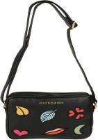 Giordano Women Black PU Sling Bag