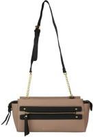 Giordano Women Beige PU Sling Bag