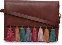 Phive Rivers Women Tan Genuine Leather Sling Bag