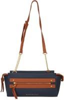 Giordano Women Blue PU Sling Bag