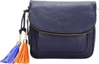 D'oro Messenger Bag(Blue)