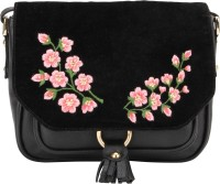D'oro Messenger Bag(Black)