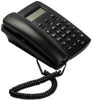 View Attitude BT- M56 Landline Phone Cordless Landline Phone with Answering Machine(Black) Home Appliances Price Online(Attitude)