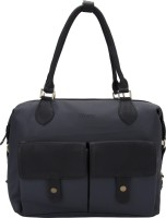 D'oro Hand-held Bag(Black)