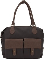 D'oro Hand-held Bag(Brown)