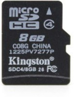 Kingston 8 GB MicroSD Card Class 4 4 MB/s Memory Card