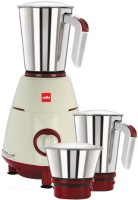 Cello 800 500 W Mixer Grinder(Maroon, 3 Jars)