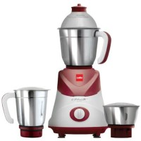 Cello Swift 500 W Mixer Grinder(Maroon, 3 Jars)