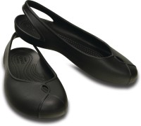 Crocs Women Black Flats
