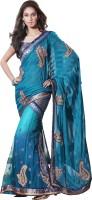 MAHOTSAV Self Design Fashion Cotton Blend Saree(Multicolor)