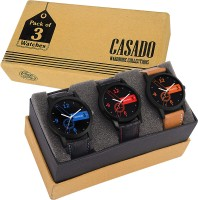 Casado 173x193x160 COMBO OF 3 BEST DESIGNED Watch - For Boys