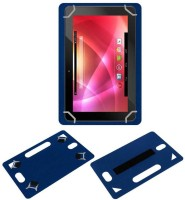 ACM Back Cover for Lava Nks 101(Blue, Grip Case, Artificial Leather)