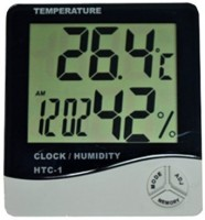 HTC Thermo Hygrometer alongwith Calibration Certificate + 3 Months Warranty for Computers(HTC-1)