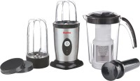 Skyline VTL-444 400 Mixer Grinder(BLACK AND SILVER, 3 Jars)