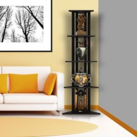 Housefull Engineered Wood Display Unit(Finish Color - Brown)