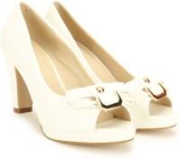 Chemistry Women White Heels