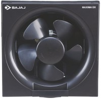 View Bajaj Maxima DxI 200 mm 5 Blade Exhaust Fan(Black) Home Appliances Price Online(Bajaj)