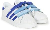 ADIDAS Boys & Girls Velcro Sneakers(White)