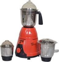 CAPTAIN COOK B01MTKXH6U 550 Juicer Mixer Grinder(Red, 3 Jars)