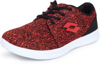 Lotto Ettore Running Shoes For Men(Red, Black)