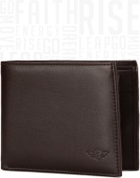 Metronaut Men Brown Artificial Leather Wallet(3 Card Slots)