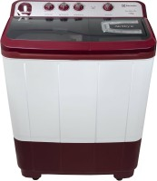 Electrolux 7.3 Semi Automatic Top Load Washer with Dryer Maroon, White(ES73GPDM)