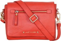Justanned Sling Bag(Red)