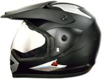 Greenstone Moto-X Plain Bluetooth Motorbike Helmet(Matte Black)