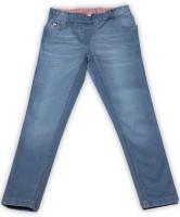 US Polo Kids Regular Girls Dark Blue Jeans