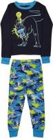 The Children's Place Kids Nightwear Boys Graphic Print Cotton(Dark Blue Pack of 2)