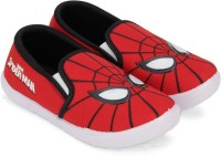 Spiderman Boys Slip on Casual Boots(Red)