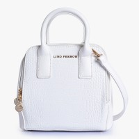 Lino Perros Shoulder Bag(White)