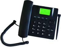 View Magic Micotel-6188-GSM SIM Cordless Landline Phone(Black) Home Appliances Price Online(Magic)
