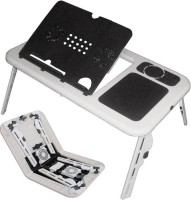 View Jeeya Portable & Foldable E-Table ( Pack of 1 ) Cooling Pad(White, Black) Laptop Accessories Price Online(Jeeya)