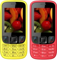 I Kall K35 Combo Of Two Mobile(Red, Yellow)