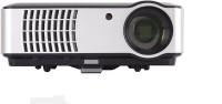 woxan WX-02A 2800 lm LED Corded Portable Projector(Black)