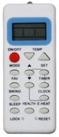 PARSHWA 23 Haier Mepl AC 50 Compatible Remote Controller(White)