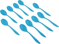 Axtry Jony Plastic Table Spoon, Tea Spoon Set(Pack of 10)
