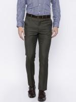 Arrow Regular Fit Men's Brown Trousers