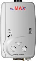 View Min Max 7 L Gas Water Geyser(Silver Mettalic, Inse) Home Appliances Price Online(Min Max)